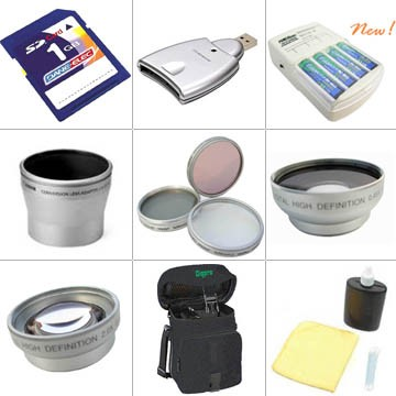Platinum Accessory Kit for Minolta Dimage Z2 Digital Camera