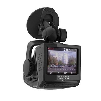 P3 Full HD 1080P Dashcam with Built-In GPS and US Digital Map 2.4` LCD (Black)