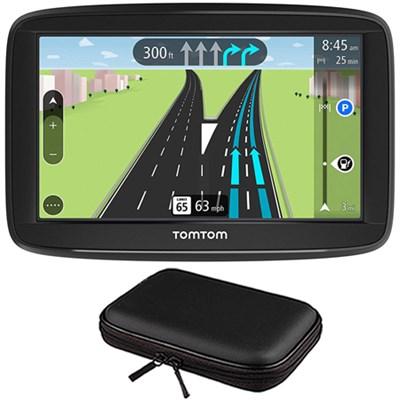 VIA 1625M 6` Touchscreen GPS Navigation Device Lifetime Maps w/ Hardshell Case