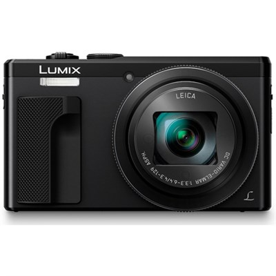 ZS60 LUMIX 4K 18 MP Digital Camera with Wi-Fi - Black - OPEN BOX
