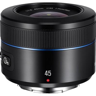NX 45mm f/1.8 Camera Lens - Black