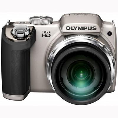 SP-720UZ 14MP 26x Opt Zoom 3-Inch LCD Digital Camera - Silver - OPEN BOX