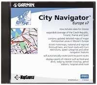 Map Source City Navigator Europe v7