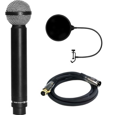 Legendary Hypercardioid Double Ribbon Microphone w/ Filter Bundle