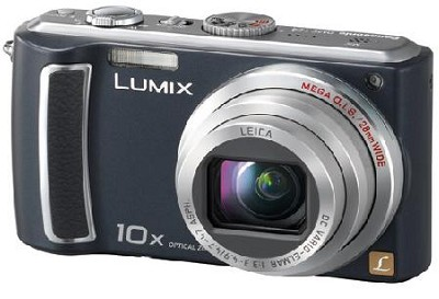 DMC-TZ4K - Lumix 8.1 Megapixel Digital Camera (Black) w/ 2.5 inch LCD