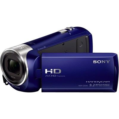 HDR-CX240/L Entry Level Full HD 60p Camcorder - Blue