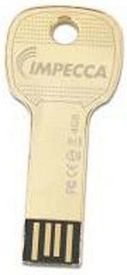 4GB USB Key Drive - Gold