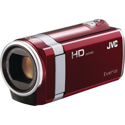 GZ-HM440US Full HD Memory Camcorder - Red