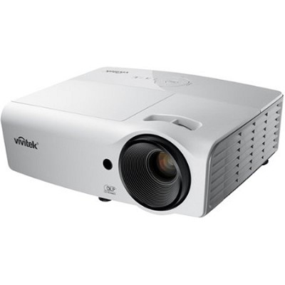 D554 3000-Lumen 3D HDMI Portable DLP Projector Factory Refurbished