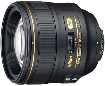 2195 - 85mm f/1.4G AF-S NIKKOR Lens for Nikon Digital SLR - OPEN BOX