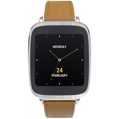 ZenWatch Android Wear Waterproof Smartwatch Leather Brown