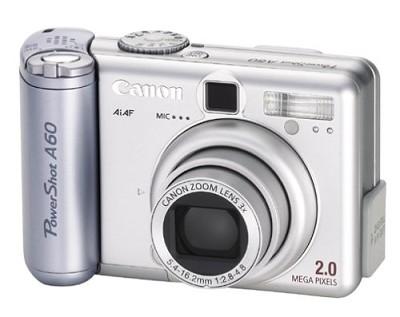 Powershot A60 Digital Camera