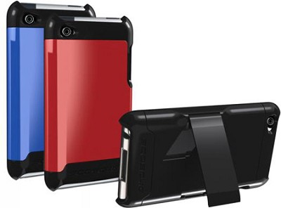 IT4K2D KickBack Case with Interchangeable Backs for iPod touch 4g