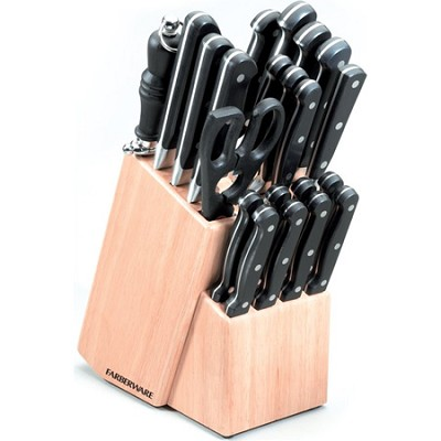 22 Piece Classic Forged Cutlery Block Set (FCF22N)