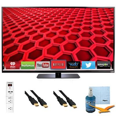 50` LED Smart HDTV 1080p Full HD 120Hz Plus Hook-Up Bundle - E500i-B