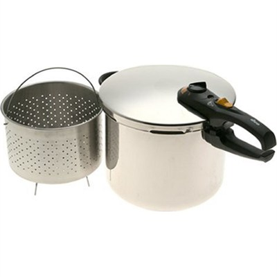 Duo 10 Quart Stainless Steel Pressure Cooker - OPEN BOX
