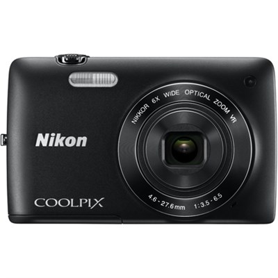 COOLPIX S4300 16MP 3-inch Touch Screen Digital Camera - Black (Refurbished)