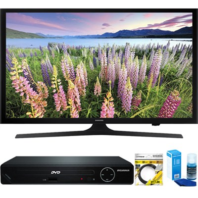 UN50J5200 50-Inch Full HD 1080p Smart LED HDTV + HDMI DVD Player Bundle