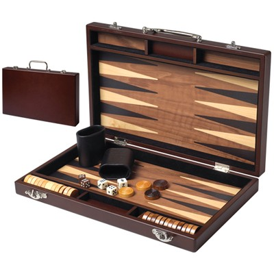 Artisan Deluxe Wooden Backgammon Set