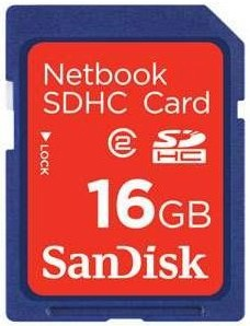 16GB Netbook SDHC Memory Card