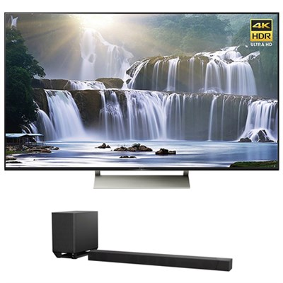 55` 4K HDR Ultra HD Smart LED TV & Sony 7.1.2ch Dolby Atmos Sound Bar