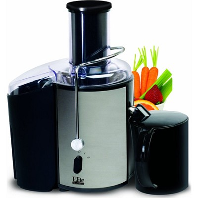 EJX-9700 Elite Platinum Stainless-Steel 2-Speed Whole-Fruit Juice Extractor