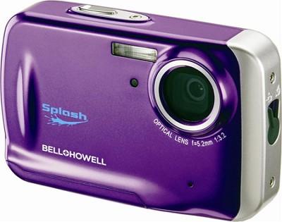 WP5 Waterproof 12.2 MP Purple Digital Camera w/ 5X Zoom, 2.7 Inch LCD