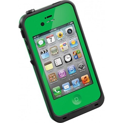 Waterproof Shock/Dirtproof iPhone Case for the iPhone 4S/4 - Green - OPEN BOX