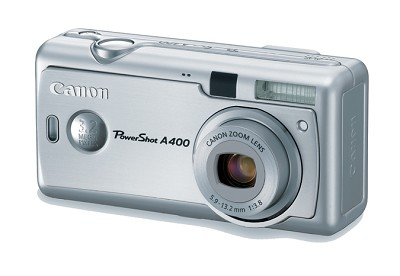 PowerShot A400 Digital Camera (Silver)