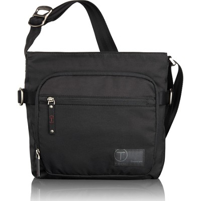 T-Tech Icon King Top Zip Crossbody (Jet)