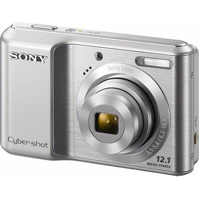 Cyber-shot DSC-S2100 12MP Silver Digital Camera