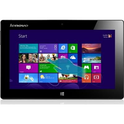 10.1` IdeaPad 64GB Miix Slate 1366 x 768 HD Multi-touch Tabl(Silver) - OPEN BOX