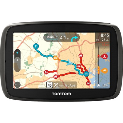 GO 40 Automotive GPS with 4-inch Touch Screen and Lifetime Map Updates