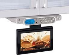 KL1008S Undercabinet 10-inch LCD HDTV