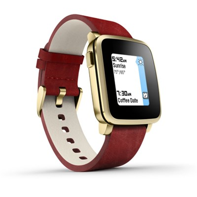 Time Steel Smart Watch for iPhone and Android Devices - Gold (511-00036)