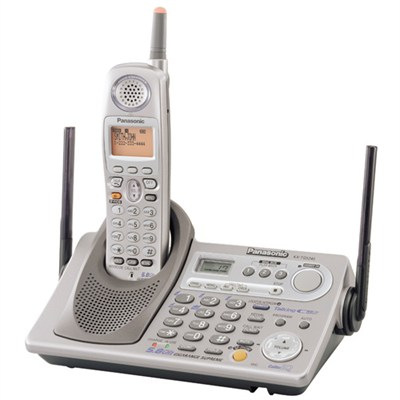 KX-TG5240M 5.8 GHz Expandable Cordless Phone System w/Talking Caller - OPEN BOX