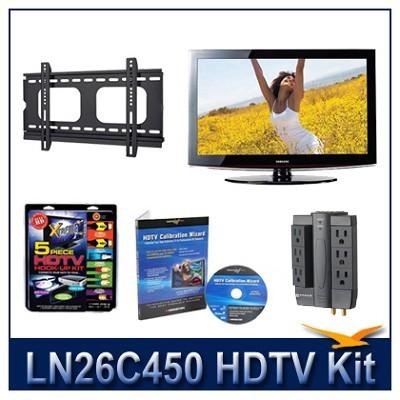 LN26C450 - HDTV + Hook-up Kit + Power Protection + Calibration + Flat Mount