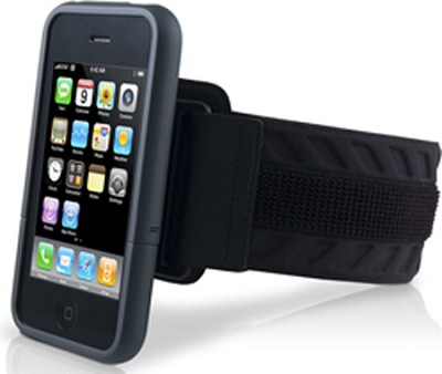 SportShell Convertible for iPhone 3G/3GS Black - OPEN BOX