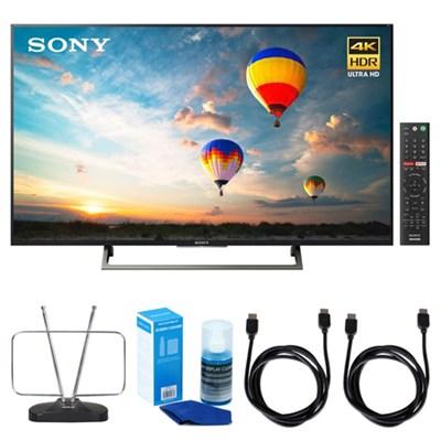 55-inch 4K HDR Ultra HD Smart LED TV (2017 Model) w/ TV Cut the Cord Bundle