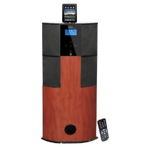 600 Watt Digital 2.1 Channel Home Theater Tower with Docking Station
