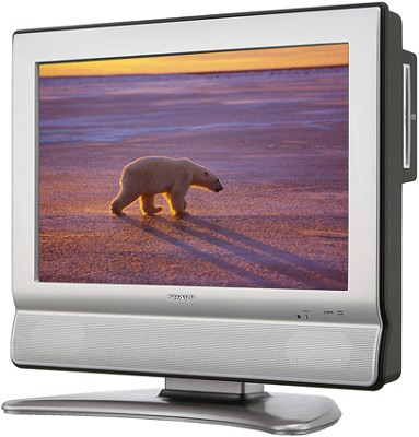 LC-26DV20U 26` High-definition LCD Flat-Panel TV w/ Built-in DVD Player