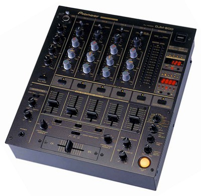 DJM-600K Pro DJ Mixer (Black)