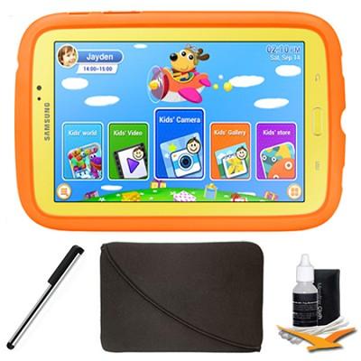Galaxy Tab 3 7.0` Kids Edition Plus Accessory Bundle