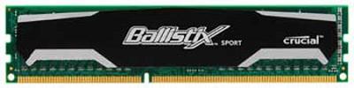 6GB kit (2GBx3), Ballistix 240-pin DIMM, DDR3 PC3-10600 Memory Module