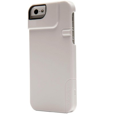 Quick Flip Case for iPhone 4/4S + Pro Photo Adapter - Solid White