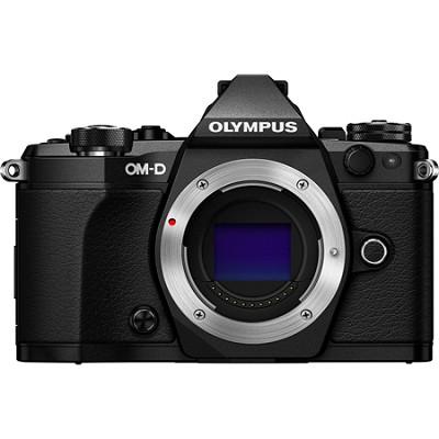 OM-D E-M5 Mark II Micro Four Thirds Digital Camera Body Only - Black