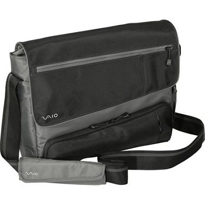 VAIO VGP-AMB14/B 16.4` Notebook Messenger Bag
