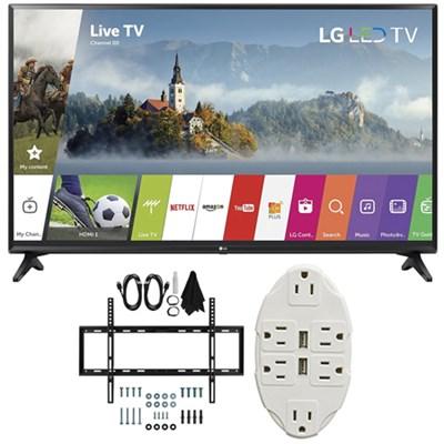 55-inch Full HD Smart TV 2017 Model 55LJ5500 with Wall Mount Bundle