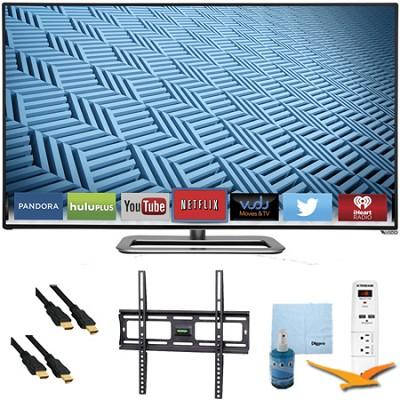 M422i-B1 - 42` Ultra-Slim LED 1080p 240Hz Smart HDTV Plus Mount & Hook-Up Bundle
