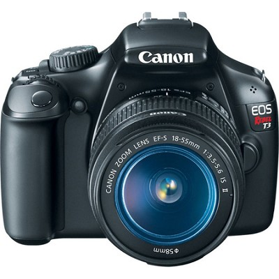 EOS Rebel T3 SLR Digital Camera w/ 18-55mm Lens II And 75-300